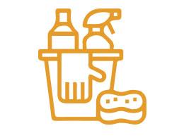 Servicio de limpieza en zonas comunes