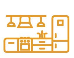 Alojamientos con cocina equipada