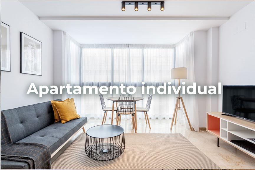 Apartamento individual de temporada en Patraix