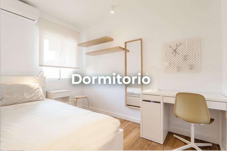 Dormitorio en alquiler de temporada para estudiantes