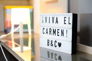 Cartel Viva el Carmen